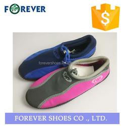 antislip soft tpr aqua water skiing shoes for men