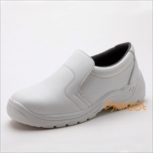 Food industry restaurant usage slip resistant and oil resistant steel toe, food shoes, en20345, esd booties manufacturer SA-6121