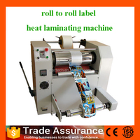 Fully Automatic Roll to Roll label sticker laminating machine, label laminator ST-500