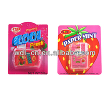 Sweet promotional candy made in brazil sugar factory fresh strips VE-F159