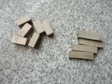 Segmentos de corte de diamante para granito, herramientas de diamante