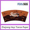 la fabricación de papel revestido del pe taza de papel