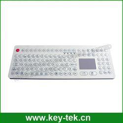 IP65 waterproof big membrane keyboard with full keyboard functionalities