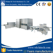 Wuhan Automatic Milk /Juice Filling Machine for 100-350ml
