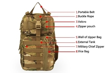 Popular special style leisure backpack for outdoor cycling CL5-0034