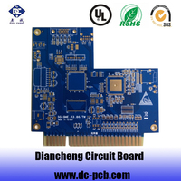 factory price electronic printed circuit board high frequency multilayer pcb fabrication