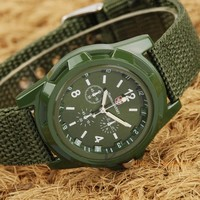 Fancy GEMIUS ARMY Brand Men's Sports Watch Analog Army Military Wristwatches 2015 new Woven watches