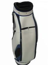 China manufacturer beautiful leather custom golf bag