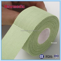 Medical/sports rigid strapping tape classic cotton sports tape