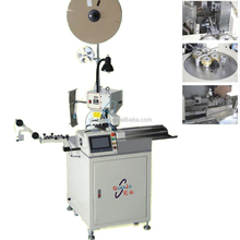 fully automatic cable cutting stripping and terminal crimping machine