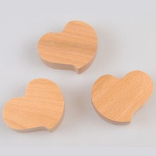 Wood Heart Cut Outs 3inch Natural Wood Heart for Crafting, Staining, Painting