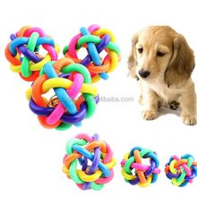 popular rubber bouncing ball dog chewing pet product