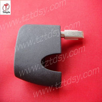 TD folding remote key of metal head part for F-ord