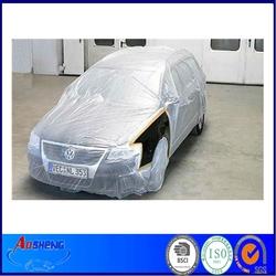 Disposable Plastic Folding Car Covers