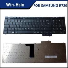 brand new original R720 for samsung laptop keyboard in UK Version
