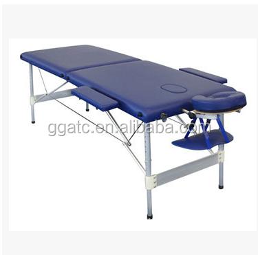 GOGO thermique lit de massage En Aluminium Réglable portable pied bois lit de massage