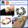 High Quality DIY Crazy Colorful Loom Bands & Rubber Bands rubber band bracelets