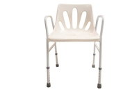 Rehabilitation Therapy Supplies With Aluminum legs Height Adjustable l frame handicap shower chair for disabled