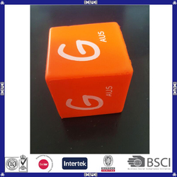 china made beautiful pu dice for sale