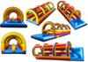 giant inflatable slip n slide pool, inflatable double lane water slide