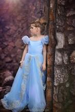 2015 venta al por mayor estilo largo vestido de cenicienta vestido ( Ulik-A0118 )