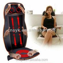 Full body Shiatsu Car Massage Cushion electric chair Massage Cushion with 10 LED light massage heads (With CE&RoHS approval)