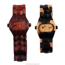Hot sell Men Dress Watch Wooden Watches Japan 2115 Quartz Movement Natural Wood Watch NEW Design Wholesale