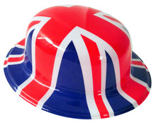 england flag carnival party hat/national day decorative hat/plastic festival hat