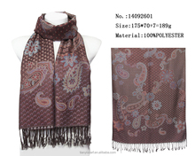 traditional pattern jacquard knitting pattern multi scarf scarves