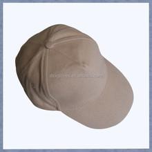 Khaki Sports Cap Plain No Logo Man Sports Cap Cotton Twill Plain Sports Cap