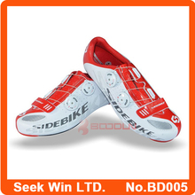 Wholesale Breathable Bike Cycle Outdoor Sports Cycling Shoes 3D Sole Speed Racing Bicycle Shoes Ciclismo Zapatos White 42