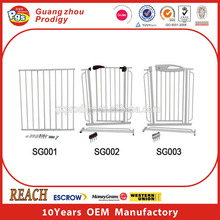 Baby security New Design iron security gates for New Born Baby