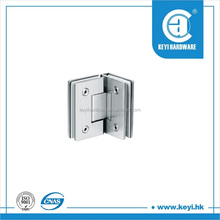 shower hinge for glass door,connecting to wall (KB90CCC)