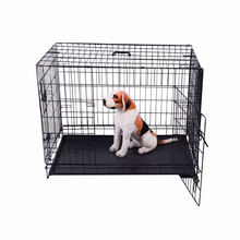 2015 Hot Sale Wide Dog Cage Stainless Steel Dog Cage High Quality Foldable Dog Cage