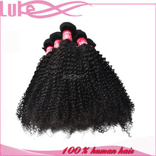 2015 Hot selling Natural Color Kinky Curly 28 Inch Hair Extensions