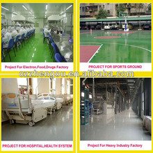 Solvent-Free Polyurethane Floor Paint / Coating For Factory Garage