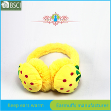 Fruit baby and children ear warmer