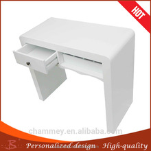 online buy wood excellent in cushion effect cosmetic desk,wood professional manicure desk supply