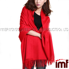 Thick Winter Long Cashmere Wool Cape Scarf Shawl