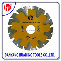 Circular diamond saw blade in Stainless steel for Gem / granite / concrete / sapphire