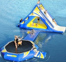 Inflatabble water park, water combo games