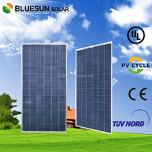 Bluesun Chinese manufacturer TUV CE ISO approved polycrystalline 300w suntech pv solar panel cable