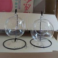Hebei Small Hanging Glass Hollow Open Balls