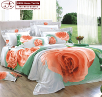 King queen double single size luxury european design home textile for import 3D sheets bedding comforter set