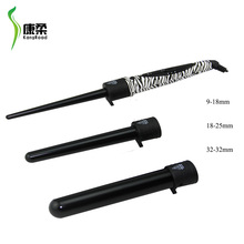 Best selling products made in China human 3P hair curler with beauty packaging hair salon furniture hair curling iron