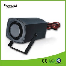Mini one tone 12 volt loud siren car motorcycle alarm security speaker