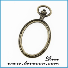 blank ring bezel for 18x25mm cabochon
