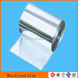 Metalized mylar film laminated for bags