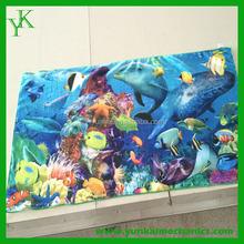 Wholesale microfiber promotional custom printed beach towel