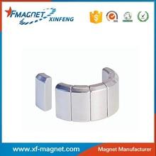 Arc Neodymium Magnet Standard Using Water Pumps